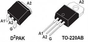 Composant electronique triac