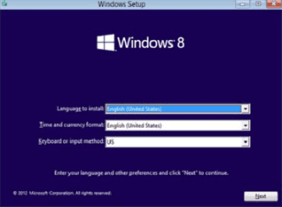 install windows 8 2