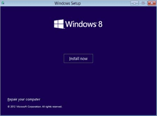 install windows 8 3