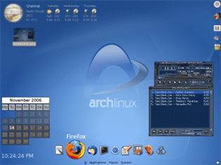 distribution linux arch