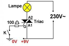 Fonctionnement triac branche technologie for Transistor fonctionnement