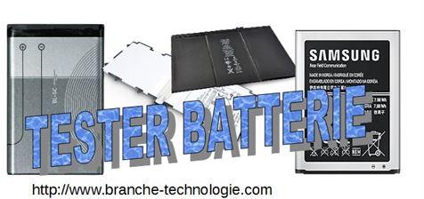 comment tester la batterie de telephone portable branche technologie. Black Bedroom Furniture Sets. Home Design Ideas